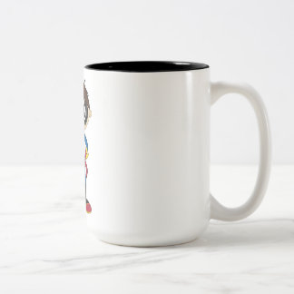 Cute Superhero Boy Coffee Mugs