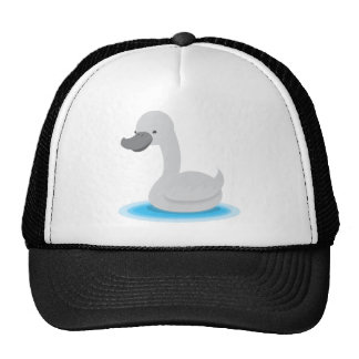 Cute SWAN Gosling grey Trucker Hats