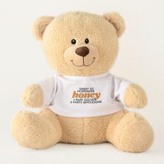 Cute Sweet as Homemade Honey Teddy Bear