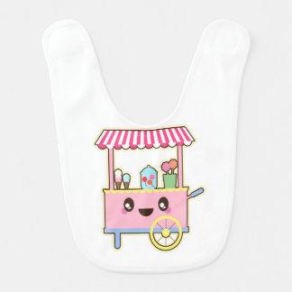 Cute Sweet Cart - Ice Cream Bib