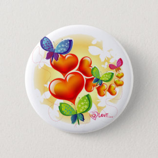 Cute Sweet Colorfull Summer Love Friendship 6 Cm Round Badge