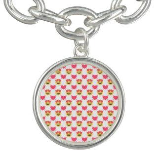 Cute Sweet In Love Emoji, Hearts pattern
