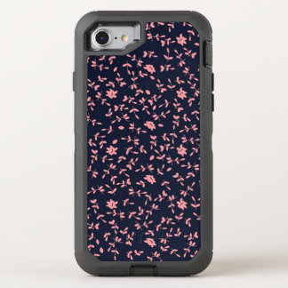 cute sweet pink floral OtterBox defender iPhone 8/7 case