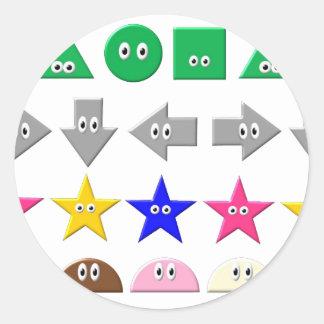 Cute Symbol Round Sticker