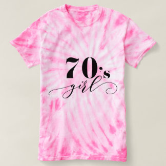 Cute T-Shirt 70's girl perfect birthday gift
