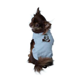 Cute Tabby Cat art Sleeveless Dog Shirt