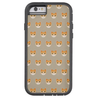 Cute Tabby Cat Illustration Tough Xtreme iPhone 6 Case