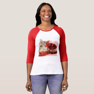 Cute tabby cat tshirt
