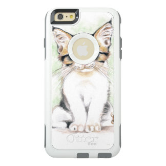 Cute Tabby Watercolor Art OtterBox iPhone 6/6s Plus Case