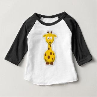 Cute tall giraffe zoo animals baby T-Shirt