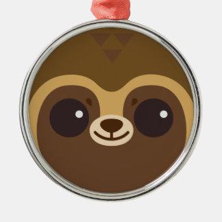 Cute Tanuki (Raccoon Dog) Face Christmas Tree Ornament
