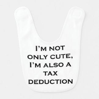 Cute Tax Deduction Baby Bibs
