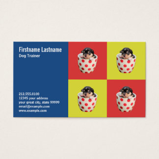 Cute Teacup Puppy Business Card