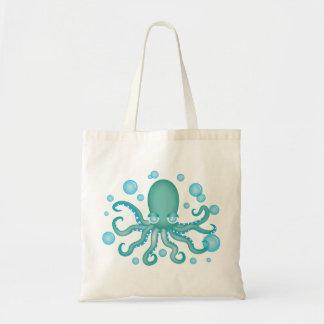Cute Teal Octopus