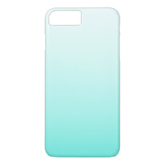 Cute Teal Ombre Girly iPhone 7 Plus Case