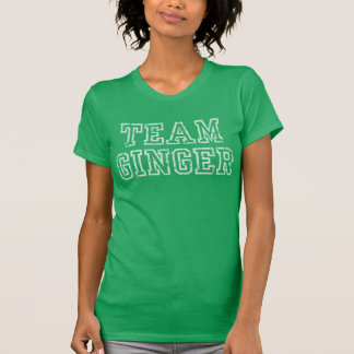 Cute Team Ginger St Patrick's Day Tee Shirt