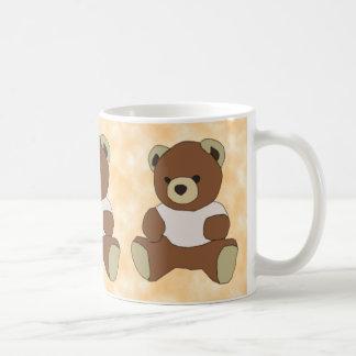 Cute Teddy Bear in Pink T-Shirt Mug