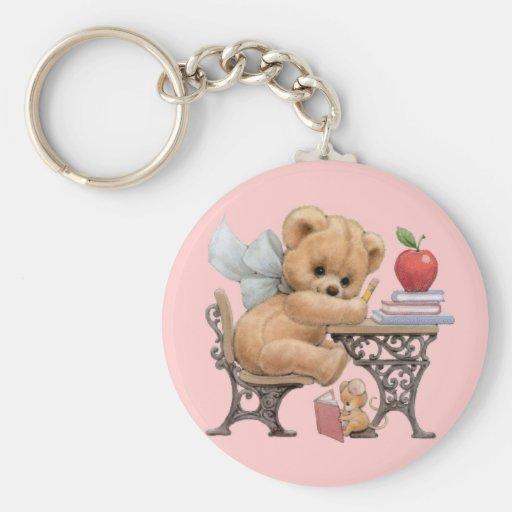 Cute Teddy Bear & Mouse Keychain