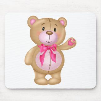 Cute Teddy Bear Mouse Pad