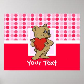 Cute Teddy Bear Print