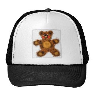 Cute Teddy Bear Toy Children Baby Shower Trucker Hats