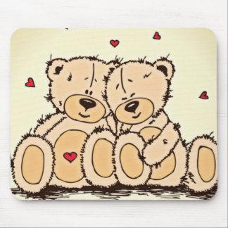Cute Teddy Bears Mouse Pad