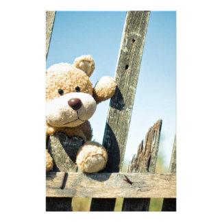 Cute Teddy Stationery Paper