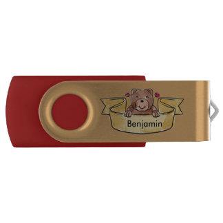 Cute Teddy USB Flash Drive