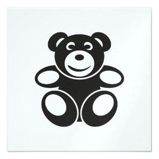Cute Teddy with a Smile Card