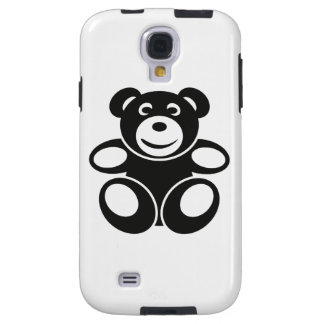 Cute Teddy with a Smile Galaxy S4 Case