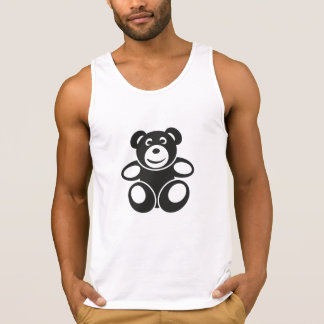Cute Teddy with a Smile Singlet