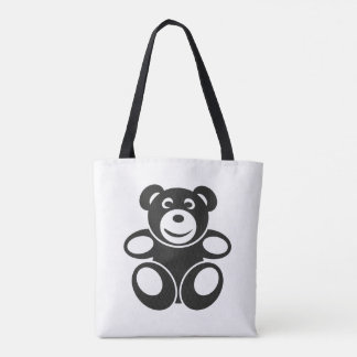 Cute Teddy with a Smile Tote Bag