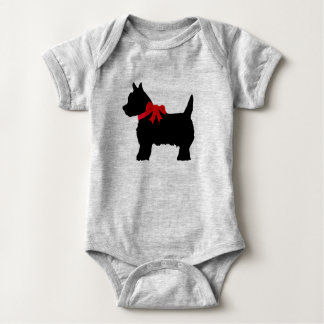 Cute terrier baby coverall baby bodysuit