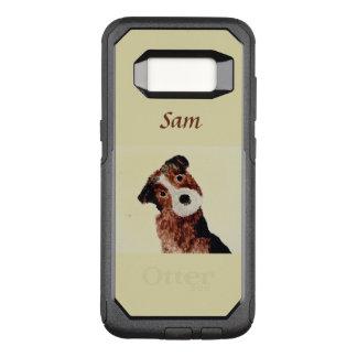 Cute Terrier Dog Art OtterBox Commuter Samsung Galaxy S8 Case