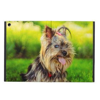 Cute terrier dog iPad air cover
