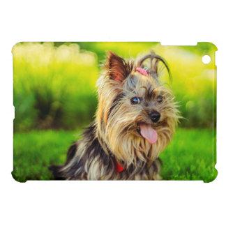 Cute terrier dog iPad mini cases