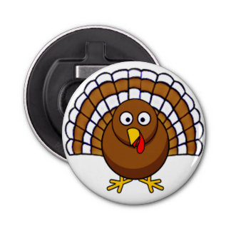 Cute Thanksgiving Turkey Bottle Opener