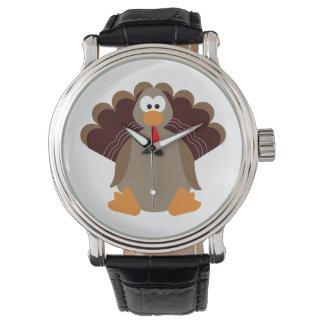 Cute Thanksgiving Turkey Watch