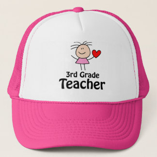 Cute Third Grade Teacher Cap