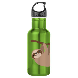Cute Three-Toed Sloth 532 Ml Water Bottle