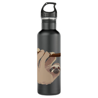 Cute Three-Toed Sloth Liberty Bottle