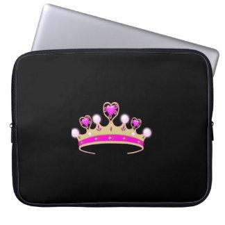 Cute Tiara Kids Neoprene Laptop Sleeve 15 inch