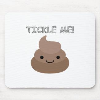 Cute Tickle Me Poop Emoji Mouse Pad