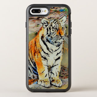 Cute Tiger Baby by JamColors OtterBox Symmetry iPhone 8 Plus/7 Plus Case