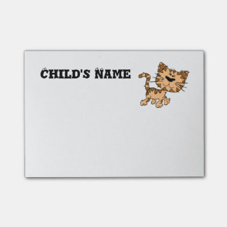 Cute Tiger Cub Post-it Notes