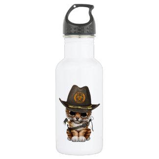 Cute Tiger Cub Zombie Hunter 532 Ml Water Bottle