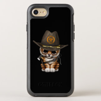 Cute Tiger Cub Zombie Hunter OtterBox Symmetry iPhone 8/7 Case