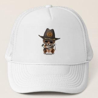 Cute Tiger Cub Zombie Hunter Trucker Hat