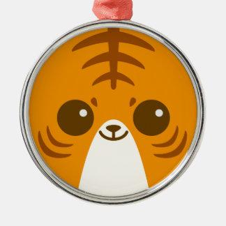 Cute Tiger Face Ornaments