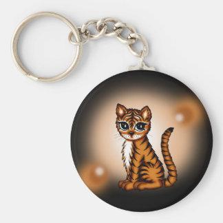 cute Tiger Key Ring